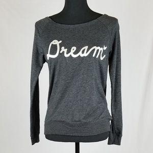 SM Glitter Dream Bird Gray Soft Sweatshirt Shirt